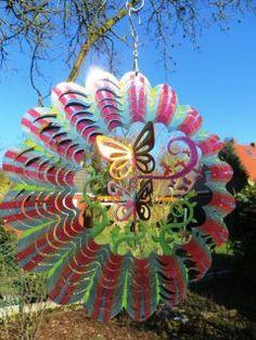 Windspiel Schmetterlingsgarten https://www.norax.de/Gartendeko/Windspiele/