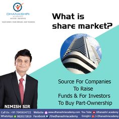 """""""Invest you linear income so you can earn EXPONENTIAL  income."""" -Nimish Sir   Dhanashri Academy Contact no.+91 7045654722 Website: www.dhanashriacademy.com"""
