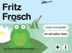 An interactive storybook style app all in German.