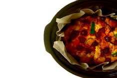 Pudin de roscón de Reyes en Crock Pot