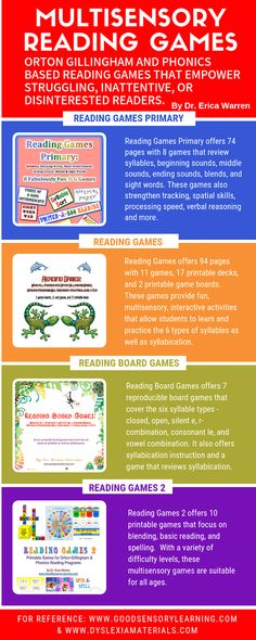 Using phonics or Orton Gillingham games when teaching children to read brings joy as well as a positive motivating factor into lessons. Instead of bribing kids with external motivators such as candy and stickers, games ignite an inner love for learning. Teaching Child To Read, Help Teaching, Teaching Reading, Teaching Ideas, Reading Assessment, Reading Intervention, Reading Games, Reading Fluency, Three Letter Words