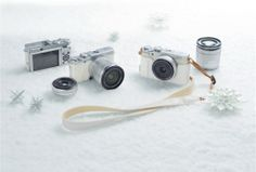 #Fujifilm X-A1 White Limited Camera Kit hkneo.com