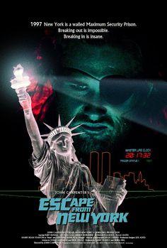 Escape from New York by Silver Ferox Design