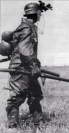 41 dan Flammenwerfer-Schützenanzug
