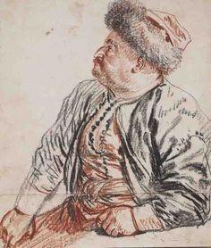 Antoine Watteau - Persiano seduto