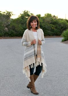 I think the fringe trend is my favorite trend this fall!