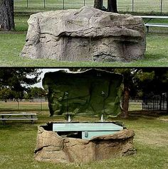 Not sure how you'd make this #geocache, but it would be cool to find!