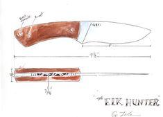 Blueprints — Feder knives Knife Grinding Jig, Knife Sharpening, Messer Diy, Diy Projects To Make And Sell, Knife Drawing, Knife Template, Blacksmithing Knives, Diy Knife, Knife Art
