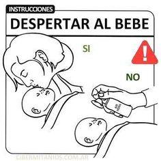 3. #aprendiendoaserpapa como despertar a tu hijo!