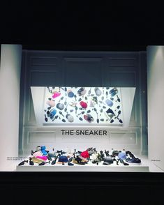 "SAKS FIFTH AVENUE MEN'S, New York, USA, ""The Sneaker in the Mirror"", photo by Raylin Dsuarez, pinned by Ton van der Veer"