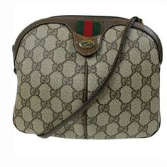 4946c754454690 Shop Women's Gucci Brown size OS Crossbody Bags at a discounted price at  Poshmark. Description: Authentic Gucci GG supreme vintage web cross body bag  in ...