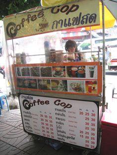 Thaise ijskoffie. Iets minder zoet heeft mijn voorkeur maar wel lekker romig en verfrissend.