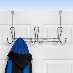 Spectrum Diversified Quazar Over the Door 3-Triple Hook Rack - 82870