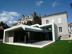 Montmorency Residence located in Montmorency, France and re-designed by Francesca De Marchi.
