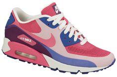 Nike WMNS Air Max 90 Hyperfuse | Pink Flash & Hyper Blue