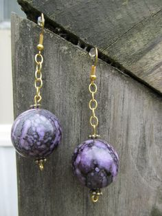 Purple Marbles by Michael Carty on Etsy