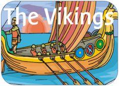 EYFS KS1 KS2 teaching resources - THE VIKINGS - KS2 History topic - IWB teaching resources