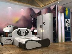 a panda-themed hotel!