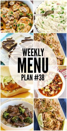 I have gotten together with some of my favorite food bloggers to bring you this custom weekly menu plan. We will all be sharing some of our favorite recipe ideas for you to use as you are planning out your meals for the week. Just click any of the recipe titles or pictures to getContinue Reading...