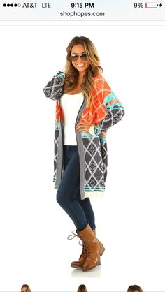 Lost In An Image Cardigan