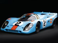 Le-Mans 24H Spec. Gulf Porsche 917. The most beautiful racing car ever made.
