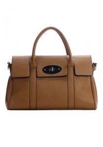 Rebecca Cowhide Leather Shoulder Bag