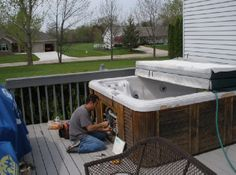 Hot tubs repair services Canton #Hottubscleaners, #Hottubsmaintenance Hot Tubs, Pool Houses, Swimming Pools, Amanda, Spa, Construction, Outdoor Decor, Accessories, Home Decor