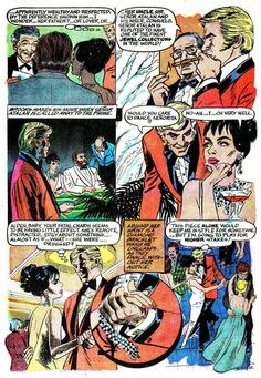 """Chilling Adventures in Sorcery #3, October 1973. Archie Comics. """"The Cat."""" Script and art by Gray Morrow."""