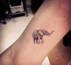 Awesome detail! Elephant tattoo