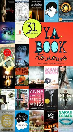 31 DAYS OF Young Adult Book Reviews and Recommendations. Because YA is the best genre out there.