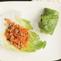 teriyaki turkey lettuce wraps (only 5 ingredients)