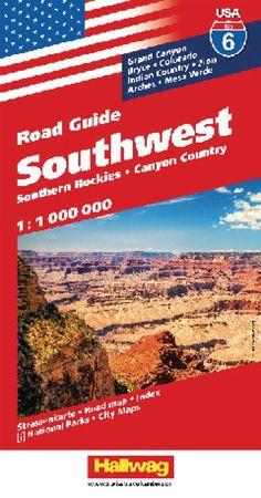 USA 6: Southwest USA and Southern Rockies by Hallwag