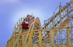 Meet the world's first upside-down wooden rollercoaster, with the world's longest tunnel, on your next family vacation. | Mt. Olympus Water & Theme Park Resort | Wisconsin Dells, WI |