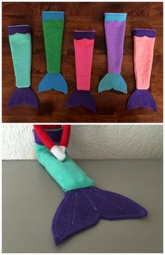 These elf-sized mermaid tails.