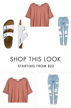 """Untitled #296"" by leah-12222 ❤ liked on Polyvore featuring Goroke, Topshop and TravelSmith"
