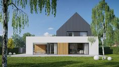 MEEKO's house in zlotniki is an expression between the modernity and archetype of poland