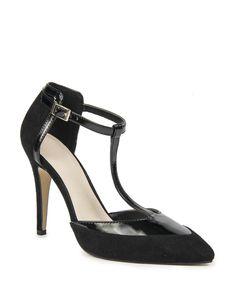 T-Bar Court Shoes Winter Warmers, Court Shoes, Mothers, Bar, Sandals, Heels, Women, Fashion, Moda