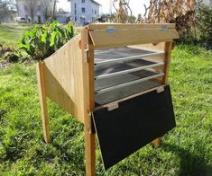 If you're curious about the possibilities, but don't want to make the switch yet, then finishing a few DIY renewable energy projects could give you a new understanding and appreciation for what's happening. Diy Solar, Solar Energy Panels, Solar Panels, Solar Stove, Food Dryer, Renewable Energy Projects, Homemade Generator, Diy Generator, Sustainable Energy