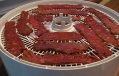 Strips of beef to expensive try this delish alternative with ground beef. You can even use ground turkey, chicken or deer meat. Ground Turkey Jerky Recipe Dehydrator, Beef Jerky Dehydrator, Dehydrator Recipes, Making Beef Jerky, Homemade Beef Jerky, Jerky Recipes, Snack Recipes, Snacks, Venison Recipes