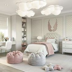 this girly room very warm and calm colors . Luxury Kids Bedroom, Magical Bedroom, Princess Bedrooms, Girl Bedroom Designs, Kids Room Design, Dream Rooms, Luxurious Bedrooms, Girl Room, Bedroom Decor