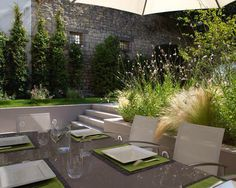 terrasse en contrebas du jardin terrasse suspendue pinterest recherche. Black Bedroom Furniture Sets. Home Design Ideas