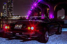 Ferrari, Miami Vice, Retro Futurism, Vaporwave, Childhood Memories, Shadows, Spider, Photo Wall, Velvet