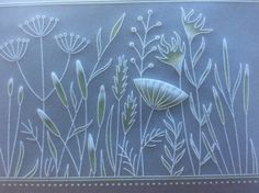 Barbara Gray's Blog. One Day at a Time.: A Groovi Meadowgrass Border