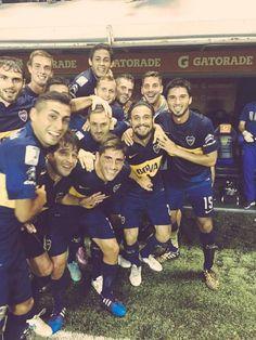 Boca Juniors - Marzo 2015 - Boca 5 - Zamora 0 - Copa Libertadores Messi And Neymar, Professional Soccer, Sports Clubs, Selfie, Football, Baseball Cards, American, Geek, The Gambler