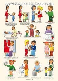 Výsledek obrázku pro zásady slušného chování pracovní list Preschool Decor, Classroom Management, Kids And Parenting, Adhd, Montessori, Kindergarten, Homeschool, Crafts For Kids, Family Guy