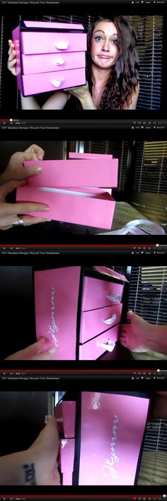 DIY: Shoebox Storage | Recycle Your Shoeboxes into drawers #video