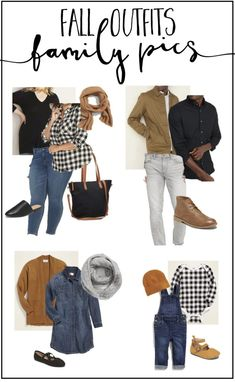 How to Choose Family Picture Outfits! Fall Family Picture Outfits, Family Portrait Outfits, Family Photos What To Wear, Fall Family Portraits, Fall Family Pictures, Fall Outfits, Family Posing, Family Pics, Fall Photos