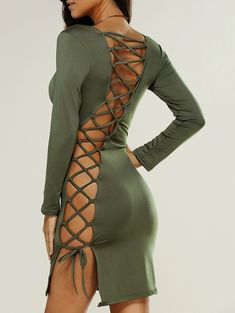 #DRESS #GREEN #LACE #GORGEOUS