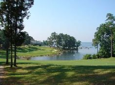 Timberlake Country Club on Lake Murray near Columbia, SC. This is the 18th hole.