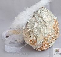bride brooch bouquets